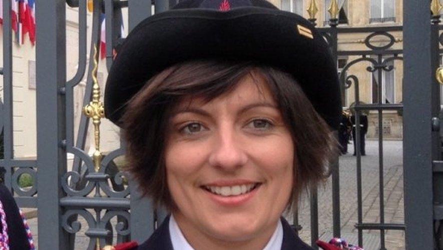 L'infirmière-chef Laure Llinares, a été reçue par le ministre de l'Intérieur Bernard Cazeneuve.