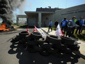 Rodez : blocus jusqu'à nouvel ordre de la prison