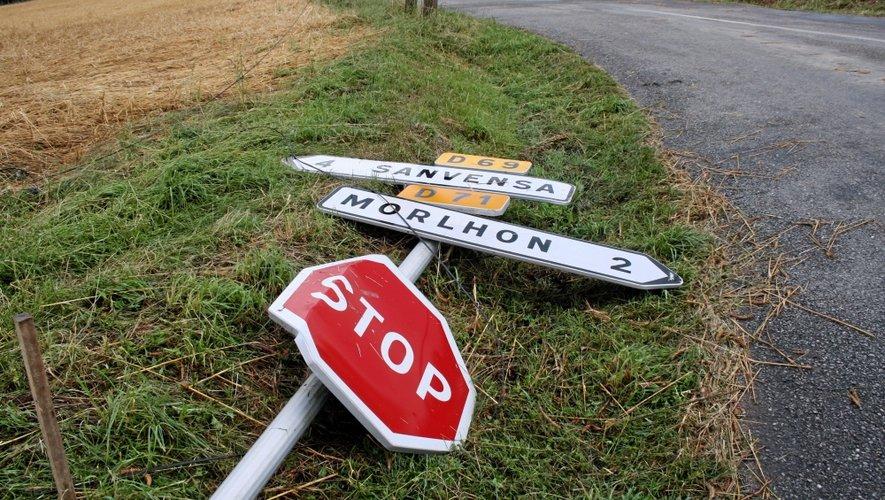 Orages : l'électricité rétablie dans l'Ouest-Aveyron