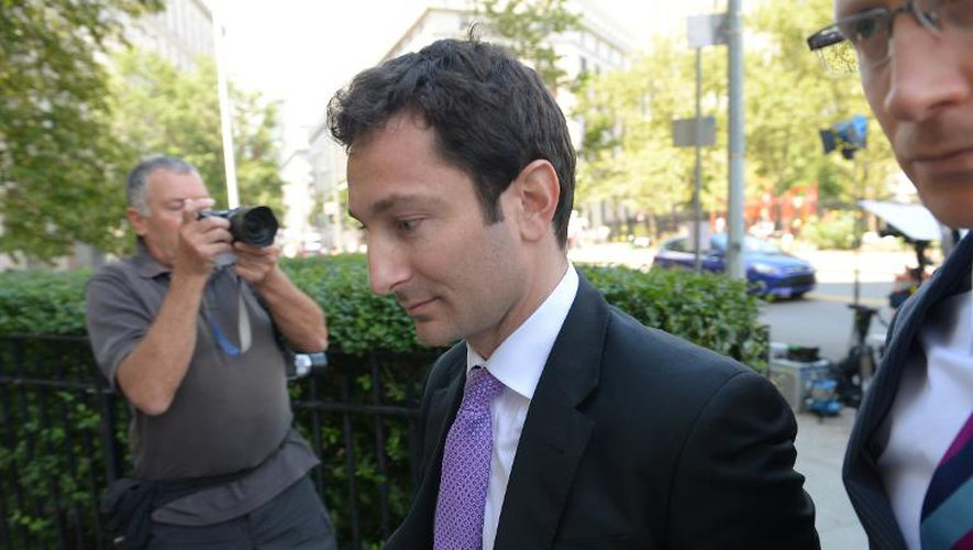 """Fabrice Tourre, l'ex-courtier de Goldman Sachs surnommé """"Fab le fabuleux"""", le 30 juillet 2013 à New York"""