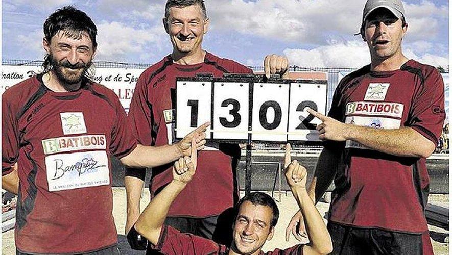 En 2011, Luc avait déjà battu le record de quilles abattues lors d'un championnat de France. Ils avaient été sacrés avec un score de 1302 !