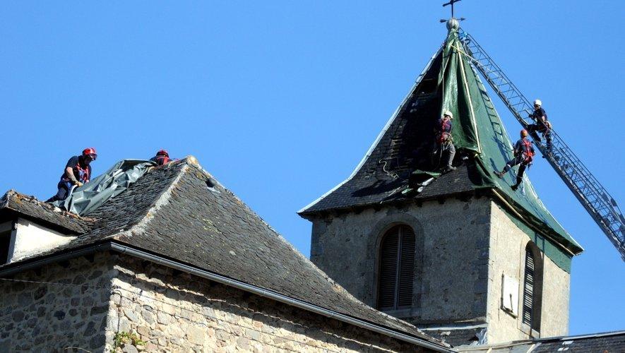 Orages dans l'Ouest-Aveyron : les habitants toujours sous le choc