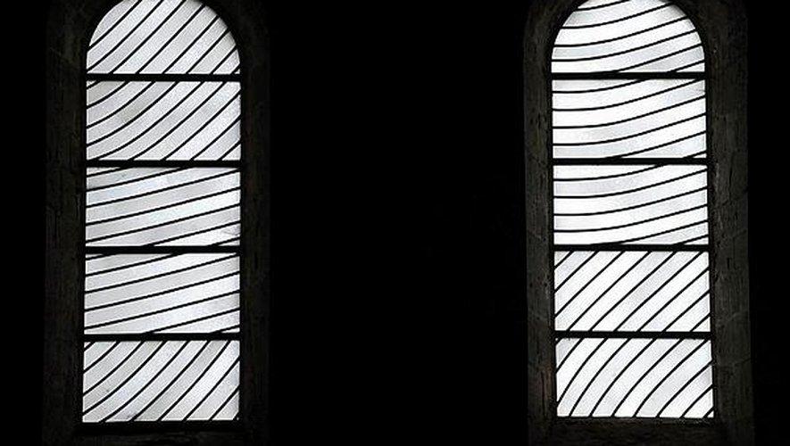 Les vitraux, objets de toutes les polémiques.