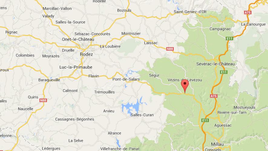 L'accident s'est produit entre le carrefour des Rauzes et Bois du Four, sur la RD911.