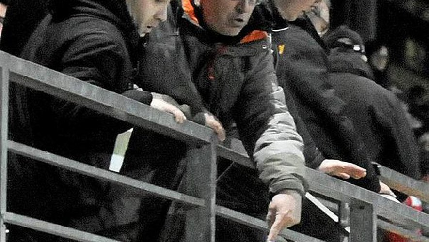 Président de Marseille Consolat, Jean-Luc Mingallon (à droite) affirme que le club phocéen refusera de monter en National. Info ou intox ?