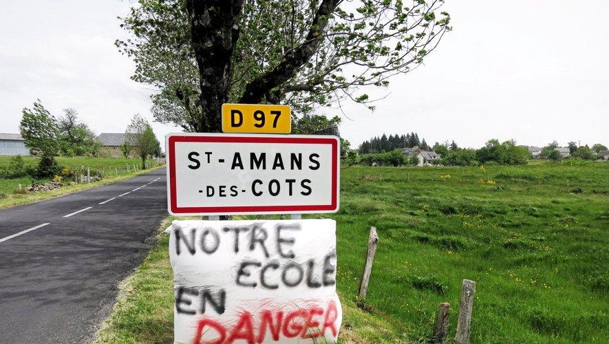Saint-Amans-des-Cots : un poste en moins, une action de plus