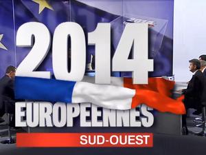 Européennes : les candidats du Sud-Ouest débattent sur Fr3