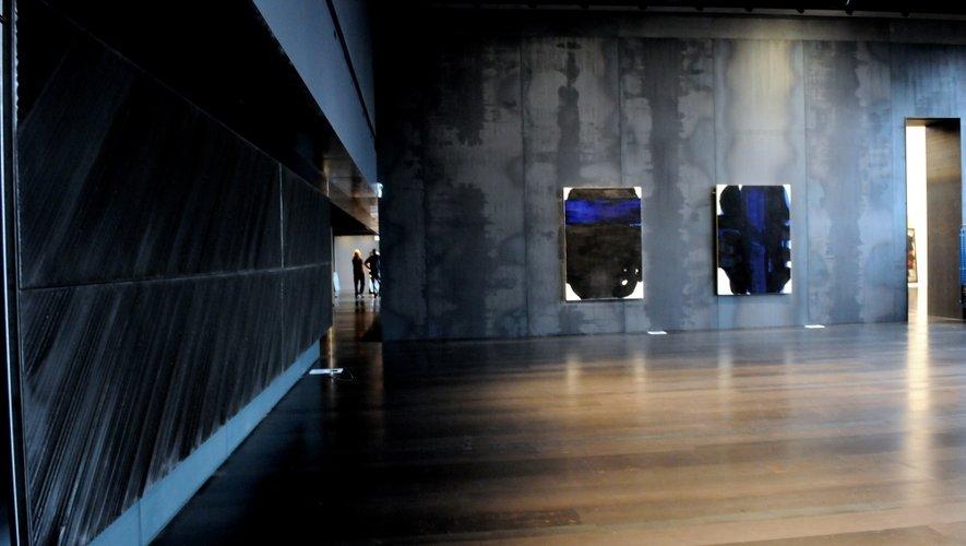 Musée Soulages : les derniers clichés avant l'inauguration