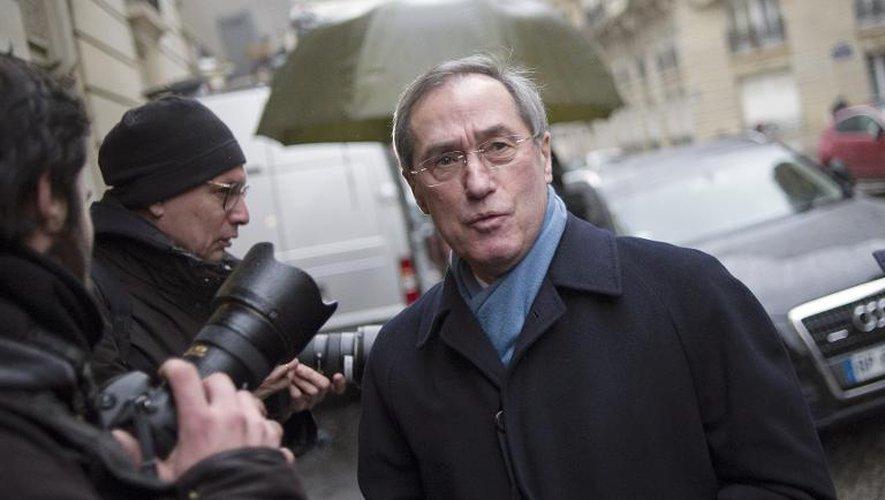 Claude Guéant le 29 janvier 2014 à Paris