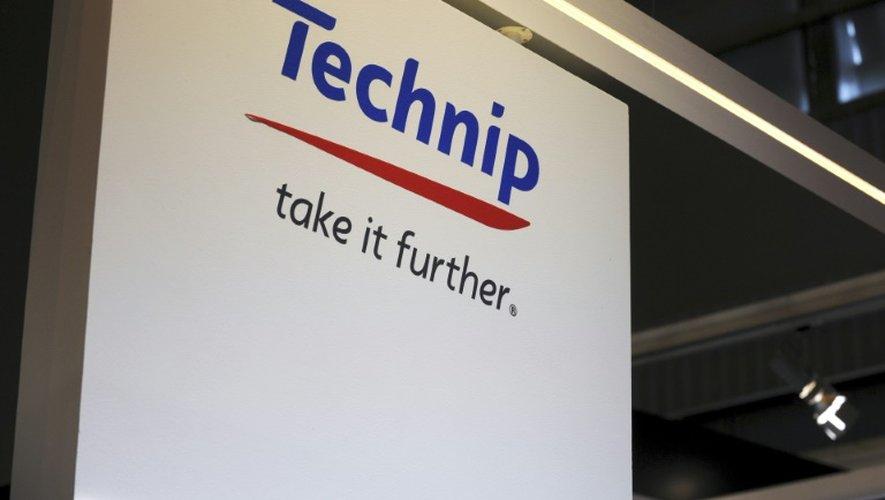 Logo du groupe français d'ingénierie pétrolière Technip , le 2 juin 2015