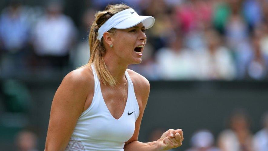 Wimbledon: Sharapova passe en demi-finales