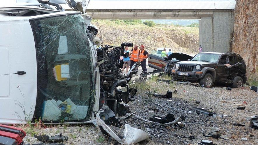 RN88 : un mort dans la collision