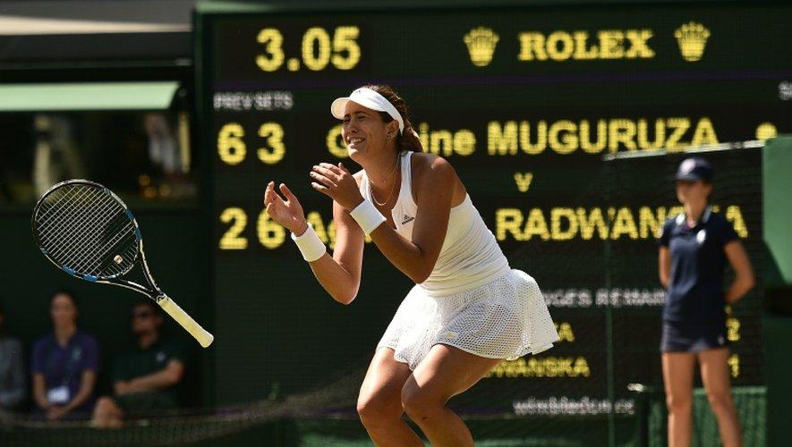 Wimbledon: Muguruza met fin à 19 ans d'attente en Espagne