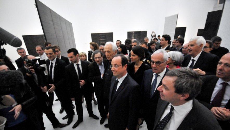 Musée Soulages : une journée d'inauguration en images