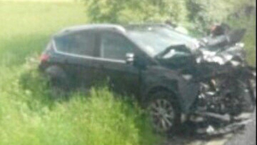 Baraqueville : collision entre deux voitures et un poids lourd
