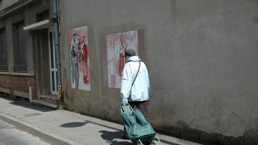 Rodez : Du street art consacré à Pierre Soulages