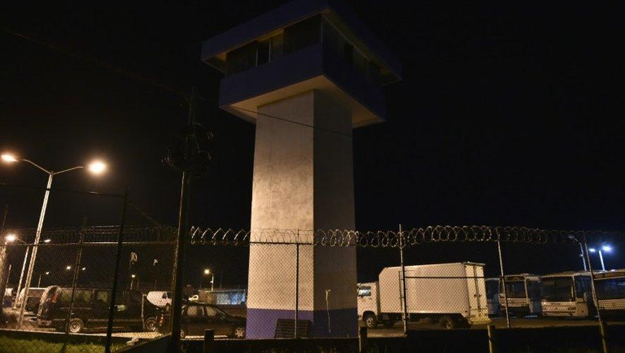 La prison d'Altiplano le 12 juillet 2015, d'où le baron mexicain de la drogue Joaquin Guzman s'est évadé la veille