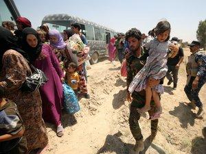Irak: au moins 20.000 enfants bloqués à Fallouja sous la menace jihadiste