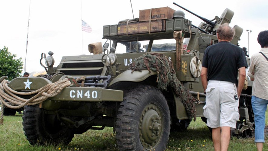 Reconstitution historique : Livinhac reçoit les honneurs militaires