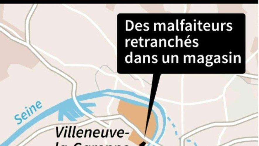 Hold-up en région parisienne