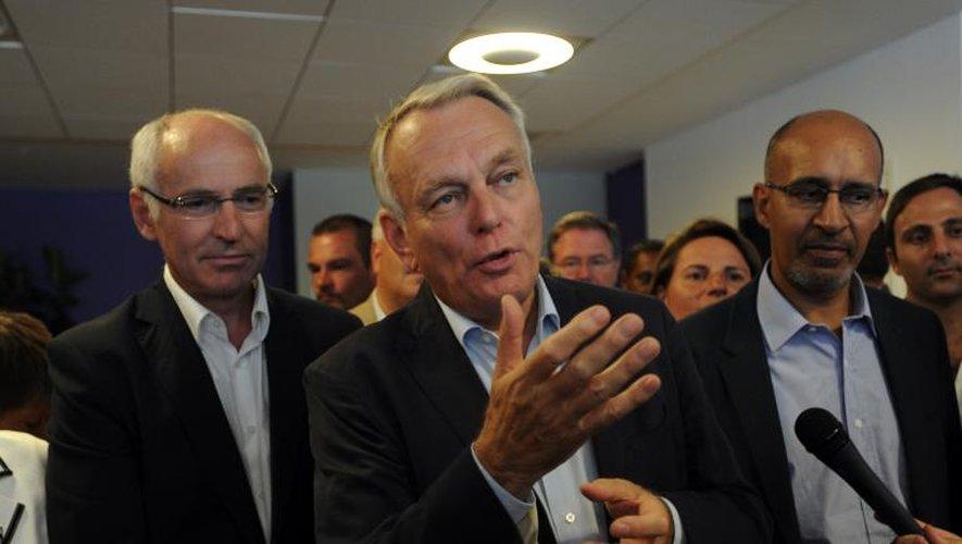 Le Premier ministre, Jean-Marc Ayrault, le 24 août 2013 à La Rochelle