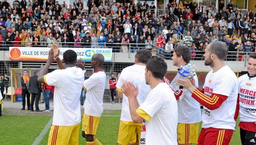 Les joueurs ruthénois ont-ils encore une chance d'évoluer en National la saison prochaine.