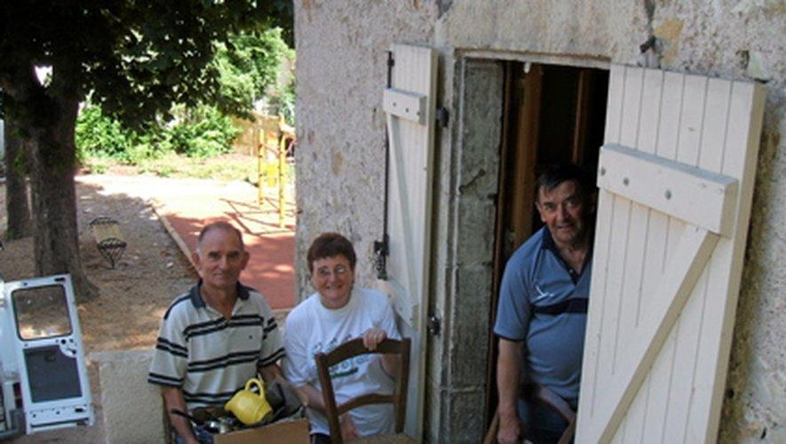 Des propriétaires en aide à «Vacances et familles 12»