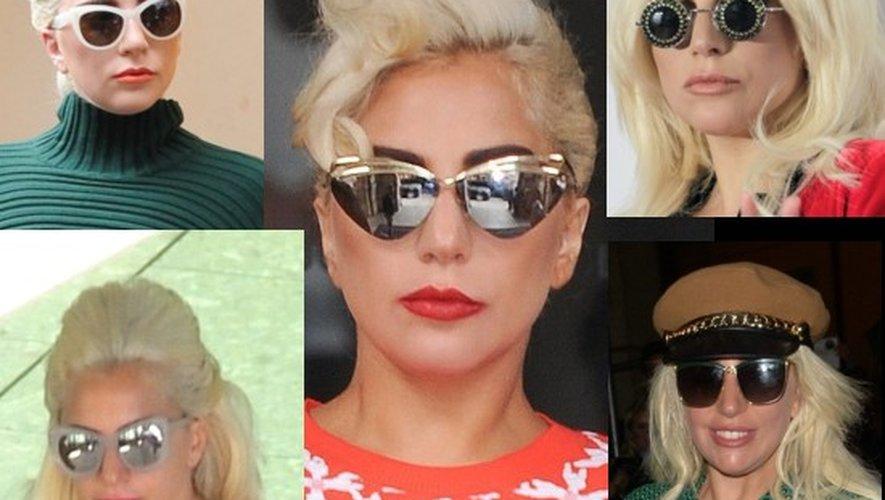 Lunettes de soleil 2015   Lady Gaga et autres tendances people - 13 ... 5690e9da25ac