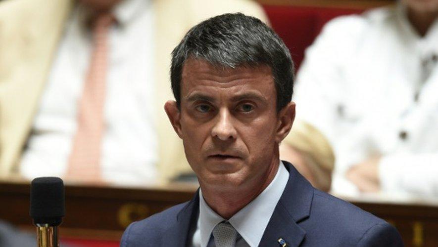Le Premier ministre Manuel Valls le 29 juin 2015 à Paris