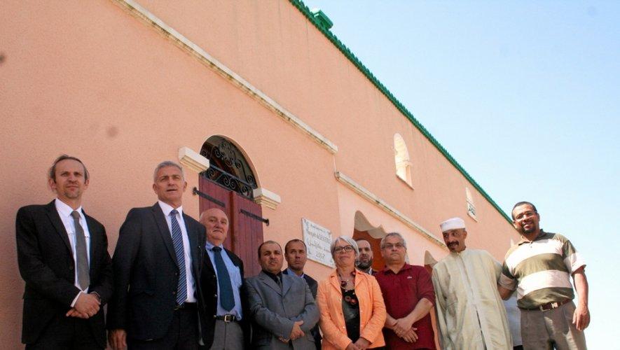 Hier, lors de l'inauguration de la mosquée, une réalisation exemplaire entreprise par les musulmans du bassin.