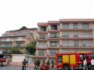 Rodez: appartement en feu à Gourgan