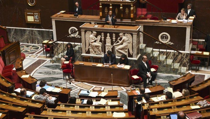 L'Assemblée nationale à Paris le 24 juin 2015