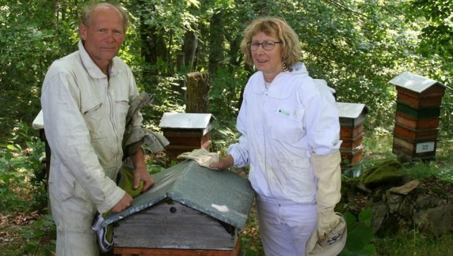 En Nord-Aveyron, Sylvie Beugin et Jacques Hazechnour font partie de l'aventure.