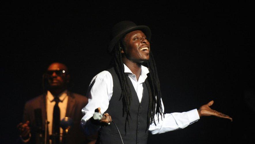 Le musicien sénégalais Faada Freddy, le 13 juillet  en concert lors des Francofolies de La Rochelle