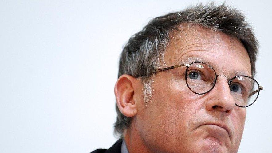 Le ministre de l'Education nationale Vincent Peillon, le 26 août 2013 à Toulouse