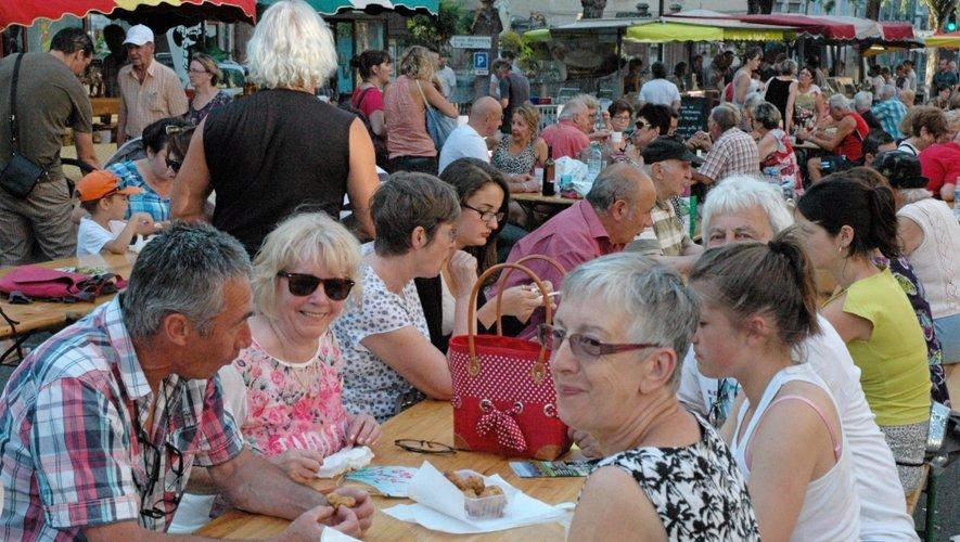 En Aveyron, l'été rime avec marchés de producteurs de pays !