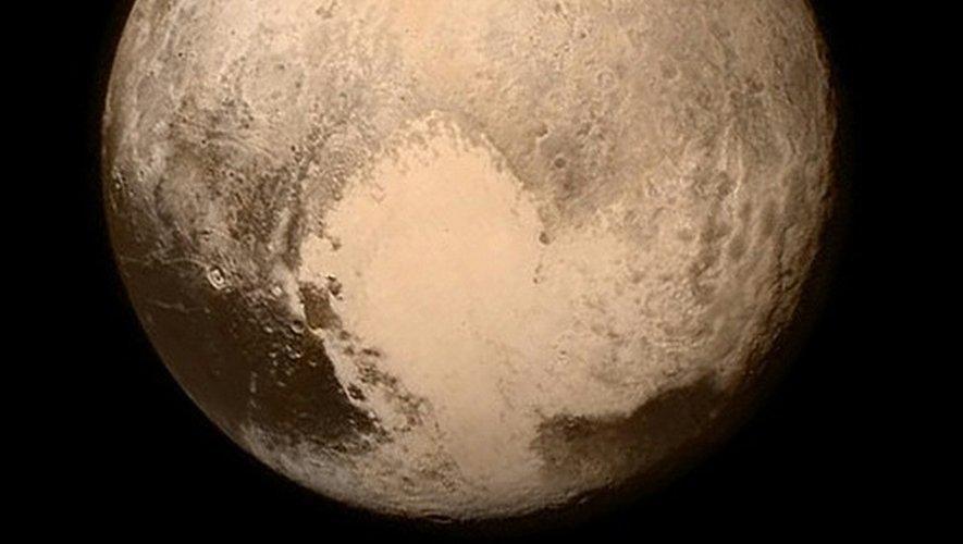 La planète Pluton photographiée par la sonde New Horizons le 11 juillet 2015