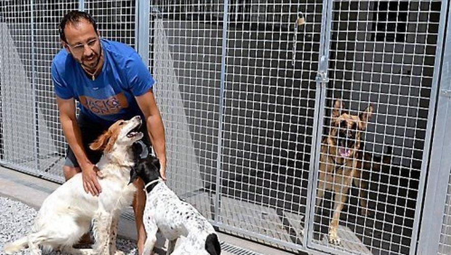 Propriétaire de l'ancienne station de Météo France à Soulobres, David Marty a décidé de transformer le site en pension pour chiens.