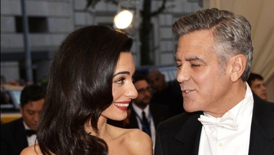 Le couple Clooney en mai dernier