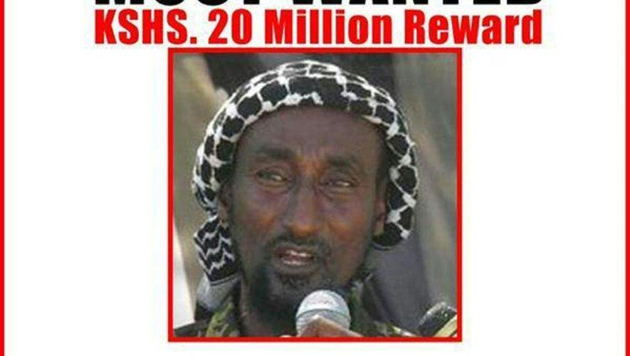 Avis de recherche de Mohamed Mohamud, cerveau présumé du massacre de Garissa, diffusé par le ministère de l'Intérieur kényan le 2 avril 2015