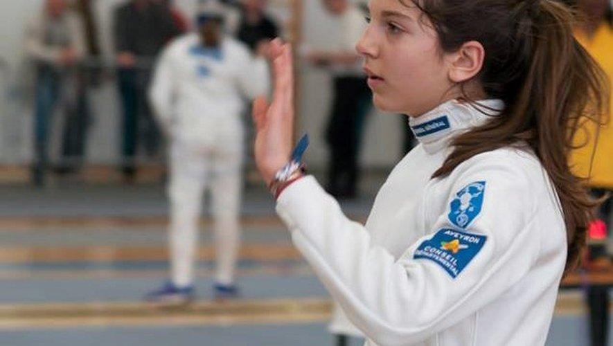 Clémentine Pinier tout près de la médaille individuelle