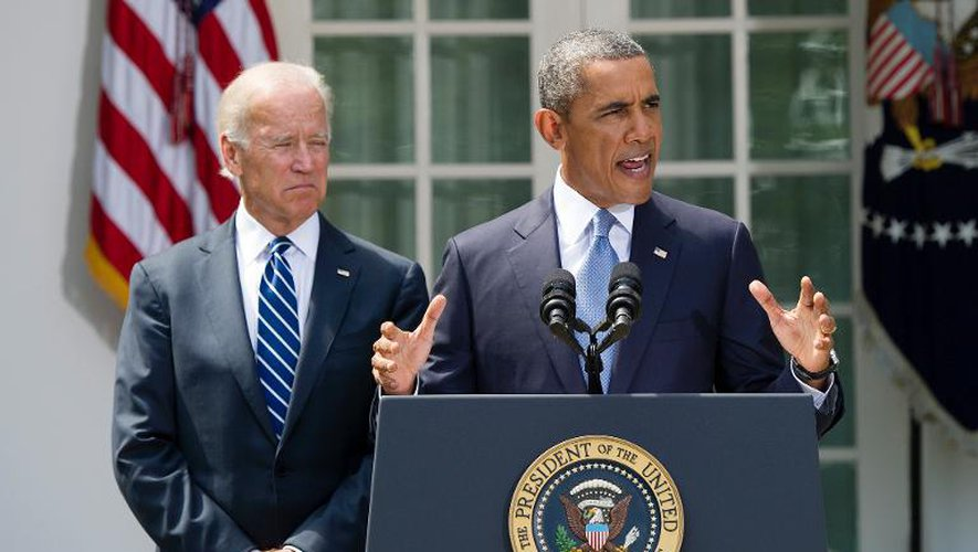 Joe Biden et Barack Obama le 31 août 2013 à la Maison Blanche