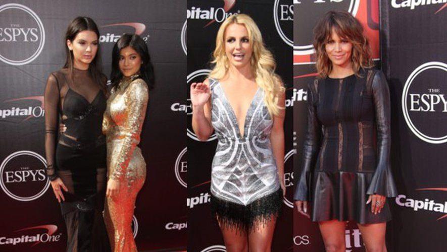 Kendall et Kylie Jenner, Britney Spears, Halle Berry… aux Espy Awards