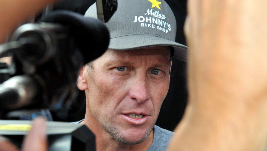 Comme à Rodez, Lance Armstrong  a pu mesurer sa cote de popularité.
