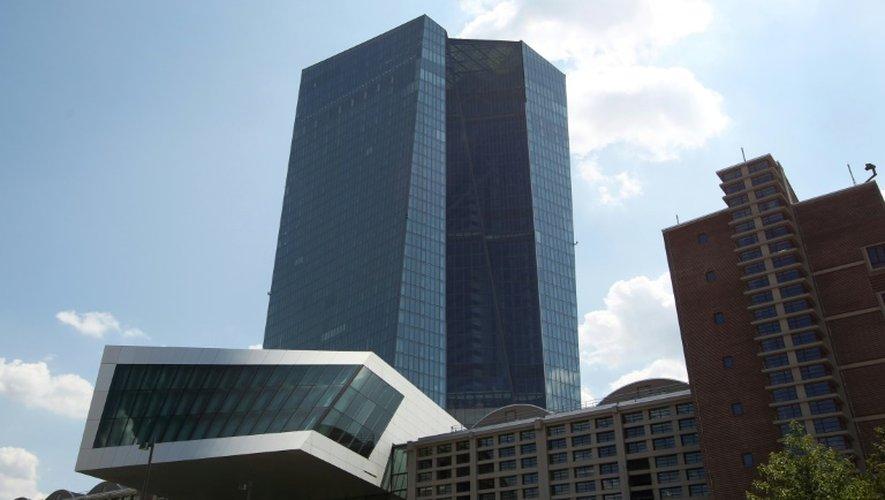 La Banque centrale européenne à Francfort, en Allemagne, le 16 juillet 2015