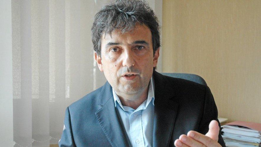 Claude Bauquis, 54 ans, entame sa deuxième rentrée à la tête de l'enseignement catholique de l'Aveyron et du Lot.