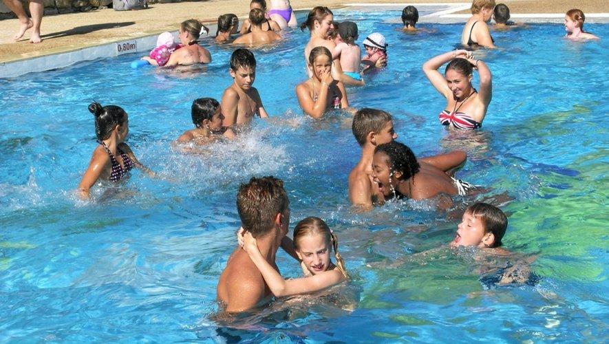Enfants et adultes ont profité cet été d'un temps ensoleillé et agréable.