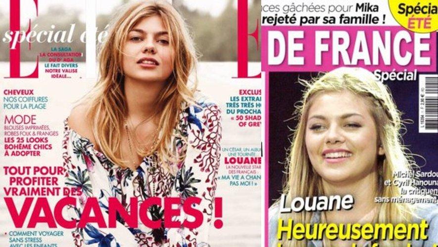 Louane amoureuse, Vanessa Paradis en bikini, Capucine Anav et Louis Sarkozy