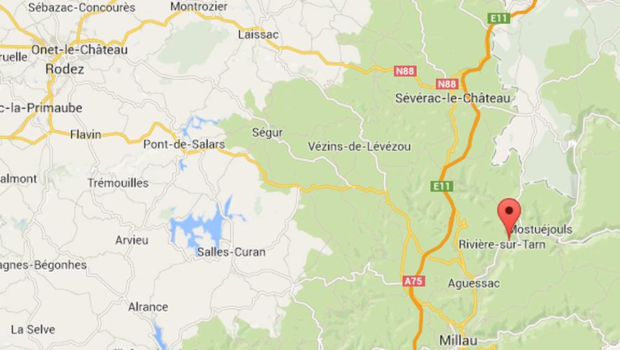 L'accident s'est produit à hauteur du lieu-dit Contre-Pinet, près de Rivière-sur-Tarn.