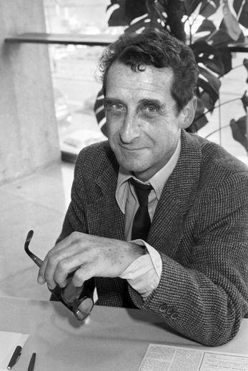 Photo prise le 28 mars 1979 de Jean Lacouture à Paris